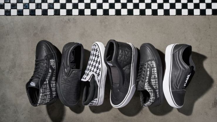 Karl Lagerfeld is collaborating with Vans and it looks very slick