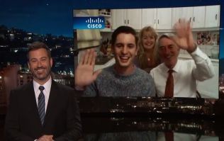 Family from THAT Kerry bat video appeared on Jimmy Kimmel last night