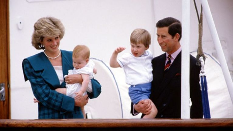 These are the names Charles had picked for William and Harry