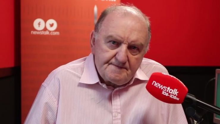 BREAKING George Hook will return to the Newstalk airwaves this weekend