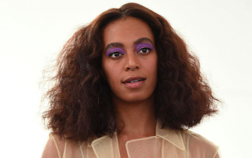 Solange now has platinum blond hair and it's effortlessly cool