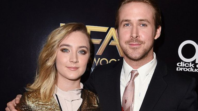 Ryan Gosling just gushed about Saoirse Ronan... 'she made me a better actor'
