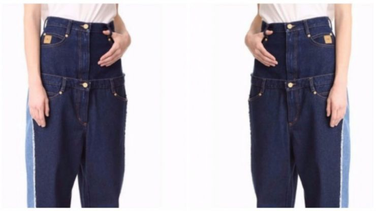 These €600 double waistband jeans has everyone confused