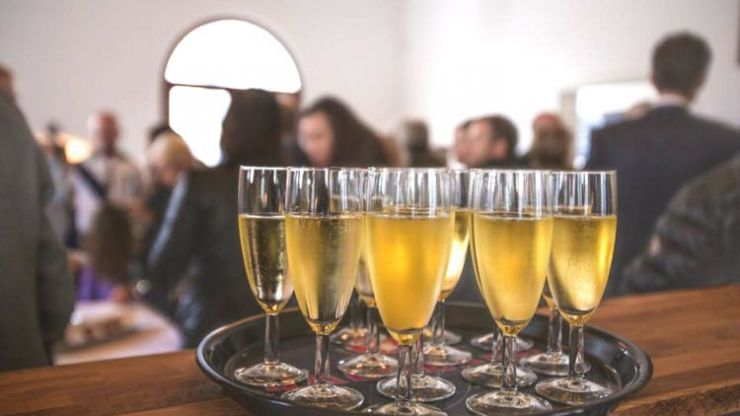 Err... so we've been drinking our champagne out of the wrong glass