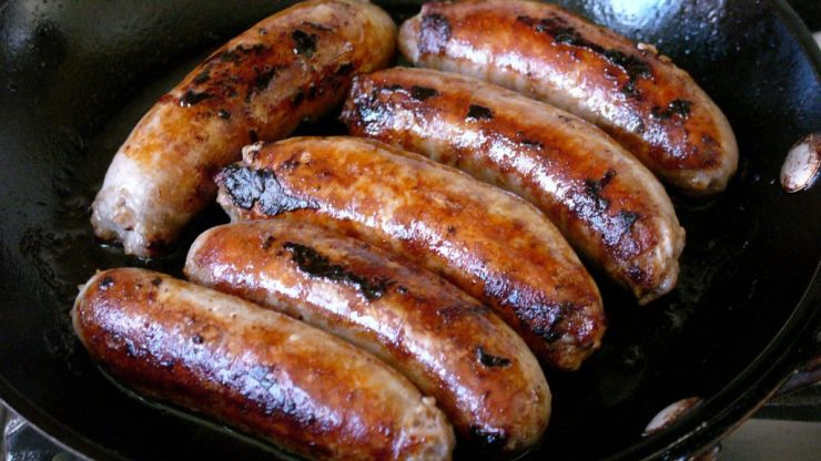 Lidl are selling chocolate chip sausages for your morning fry-up