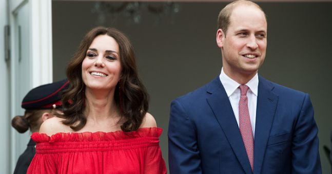 People think Prince William may have revealed Kate's due date
