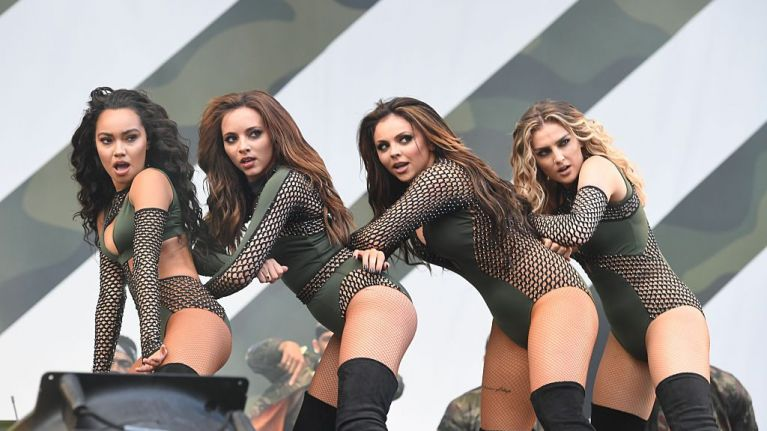 Little Mix reveal the real reason they always wear leotards on stage