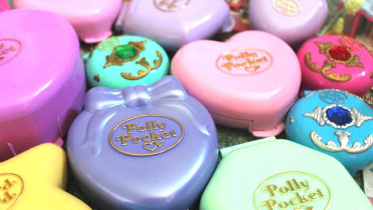 Polly Pockets are making a comeback... in the beauty world anyway