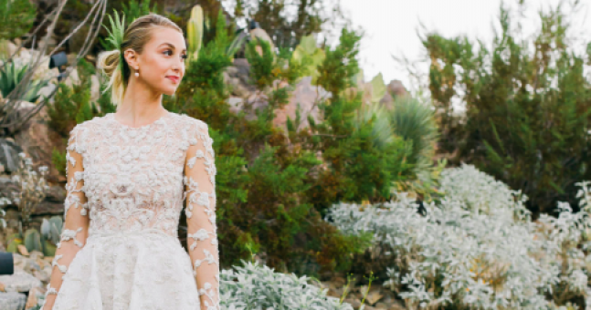 9 celeb brides who broke traditional trends and stood out from the crowd