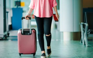 Frequent flyer claims using these two words always gets her a flight upgrade
