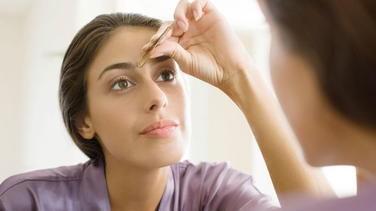 This is the absolute golden rule of tweezing your eyebrows