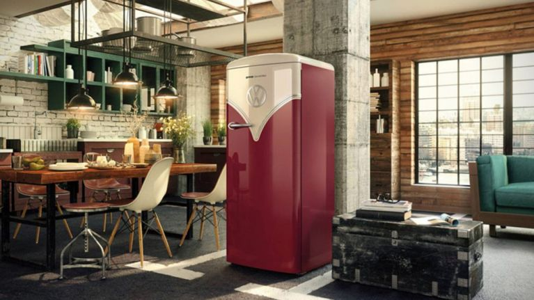 Volkswagen Has Just Launched A Retro Bus Inspired Fridge