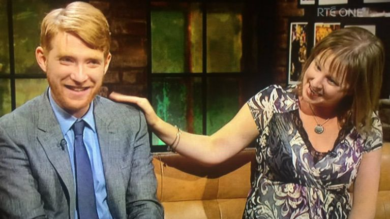 Everyone loves Domhnall Gleeson and his teacher Mrs Keogh on the