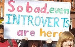 Some clever and smart signs we spotted at today's March for Choice