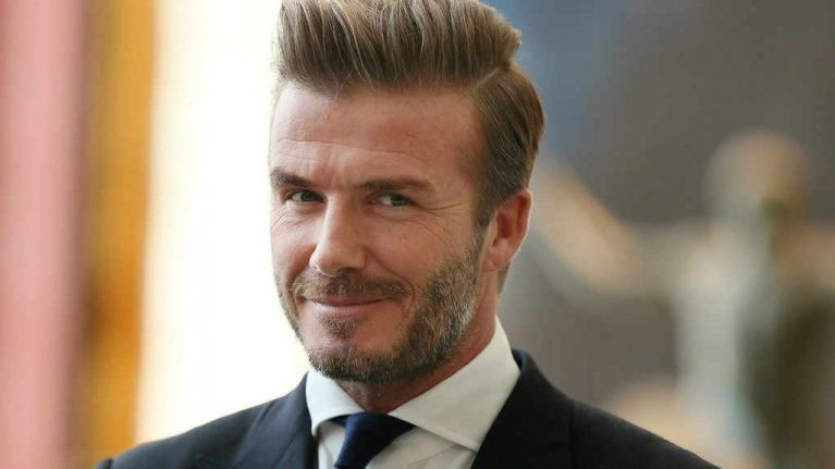 Everyones Swooning Over David Beckhams New Hairstyle This - New hairstyle of beckham