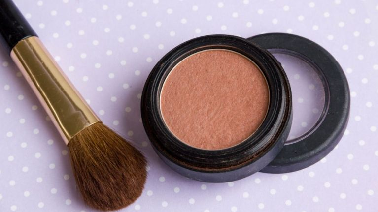 The strange (but effective) tip that will help you find the perfect shade of blusher