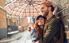 There's a really funny health side effect to being in love