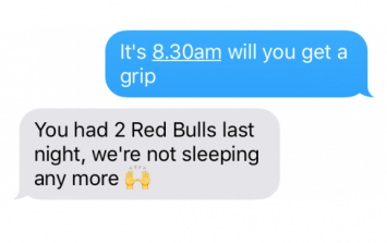 Texts From Your Brain On New Year's Day
