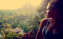As I prepared to go travelling, I unexpectedly fell in love