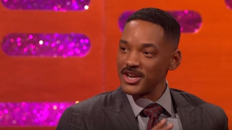 Will Smith said the nicest thing about Graham Norton