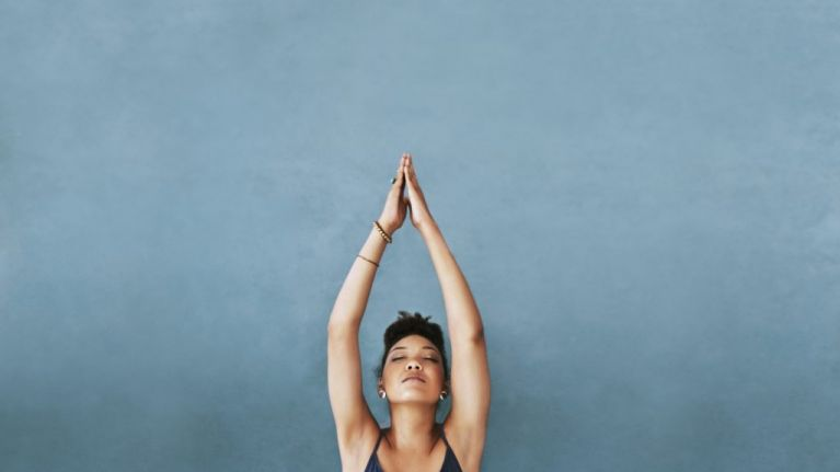 Get focused with this easy morning yoga routine