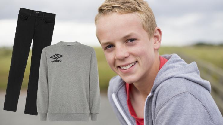 Irish teen finally locates 'dheinims dubha agus m'Umbro top'