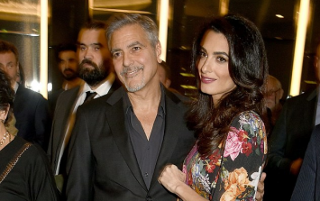 The latest photo of Amal Clooney has everyone jumping to conclusions