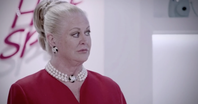Kim Woodburn looked completely unrecognisable after a makeover on telly last night