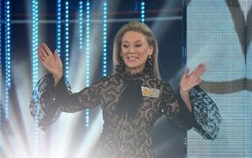 Celebrity Big Brother's Angie Best has been given a warning