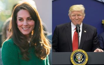 An unsettling tweet from Donald Trump about Kate Middleton has resurfaced