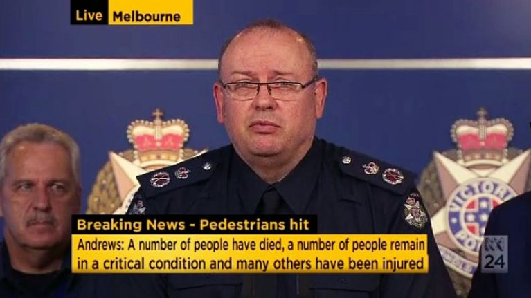 BREAKING: Carnage in Melbourne as car mows down pedestrians