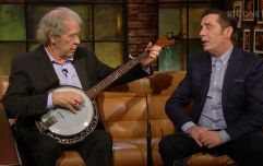 Two Irish music legends sang 'The Green Fields of France' on the Late Late and brought the house down