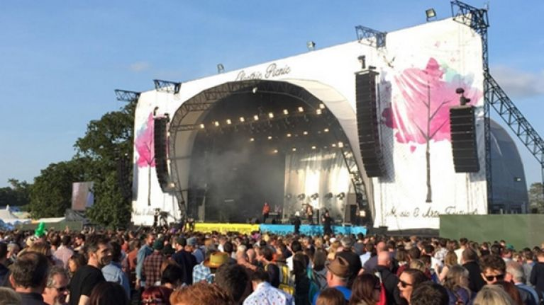 It looks like one of Electric Picnic's headline acts has just been revealed by accident