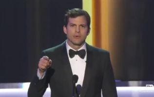 Ashton Kutcher's heartfelt speech about the Muslim ban is a must watch