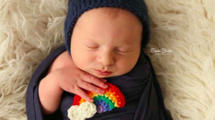 There's a rainbow baby movement trending and it is beautiful