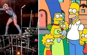 The Simpsons predicted Lady Gaga's Super Bowl performance 5 years ago