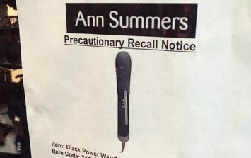 Own a 'Moregasm Black Power Wand'? Ann Summers have a message for you...