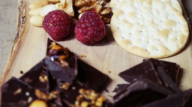 A Dublin restaurant has replaced their cheese board with a CHOCOLATE BOARD