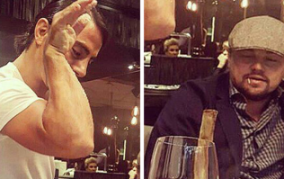 Leonardo DiCaprio went to Salt Bae's restaurant, but there's something we need to talk about