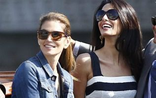 Cindy Crawford had the CUTEST response to her friend Amal's baby news