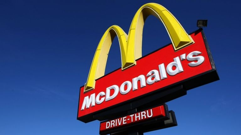 There's a secret behind the design of the famous McDonald's golden arches