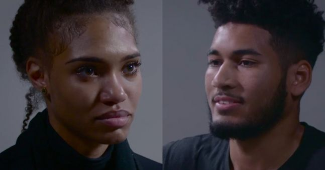 This heartbroken woman confronting her cheating ex will break you