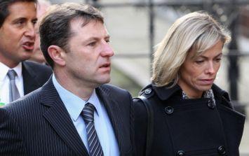 Madeleine McCann's parents lodge formal complaint against Supreme Court ruling