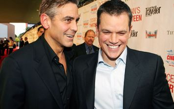 Matt Damon had the CUTEST reaction to George Clooney's baby news