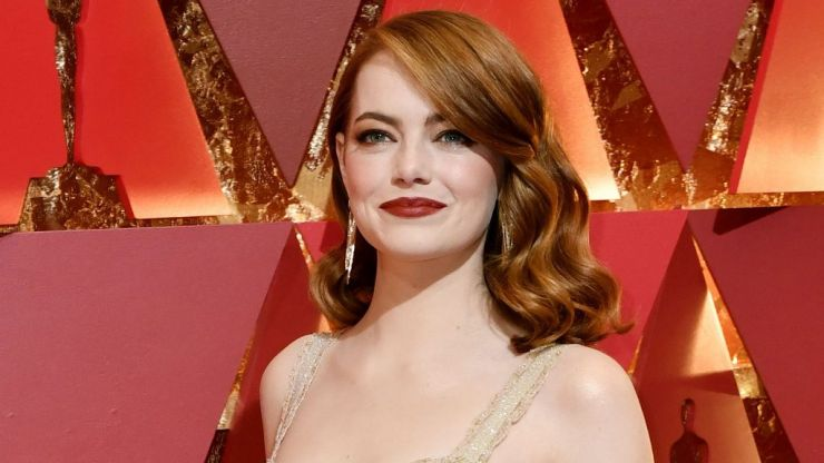 Emma Stone has ditched her trademark red hair for a dramatic new shade