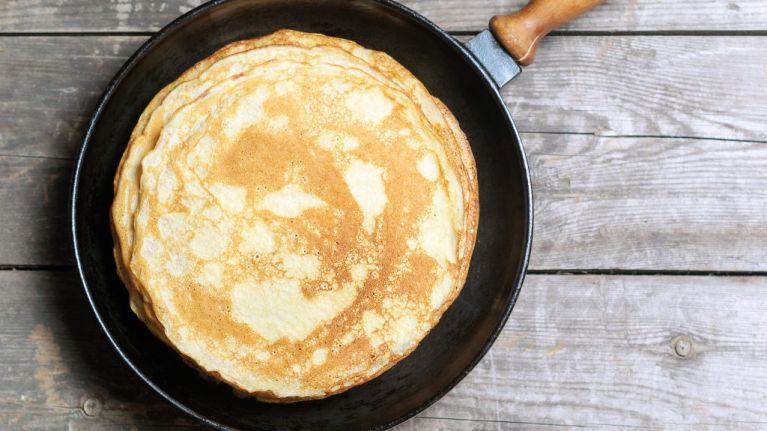 Here's how to make the perfect pancakes for the day that's in it