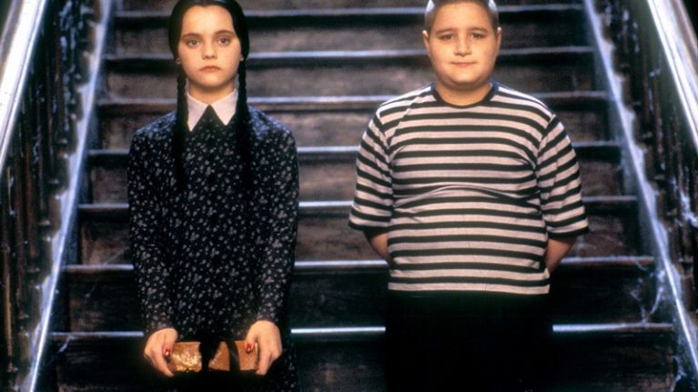Remember the Addams Family kid Pugsley? Guess who his real