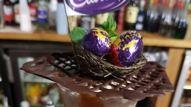 There are Creme Egg cocktails for sale in this Athlone nightclub