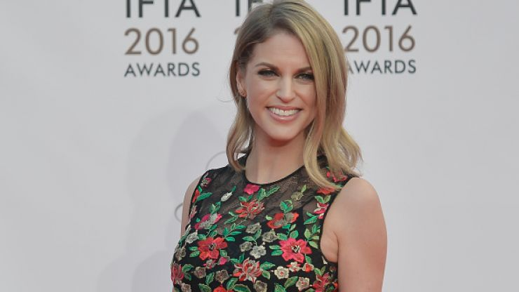 We are absolutely obsessed with the handbag that Amy Huberman just bought in NYC