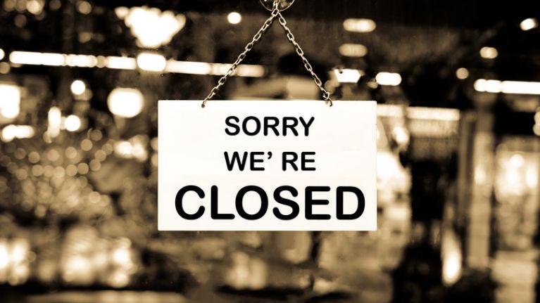 Five Irish food establishments served with closure orders last month